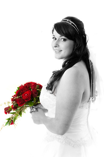 nelson wedding photography beautiful bride love flowers