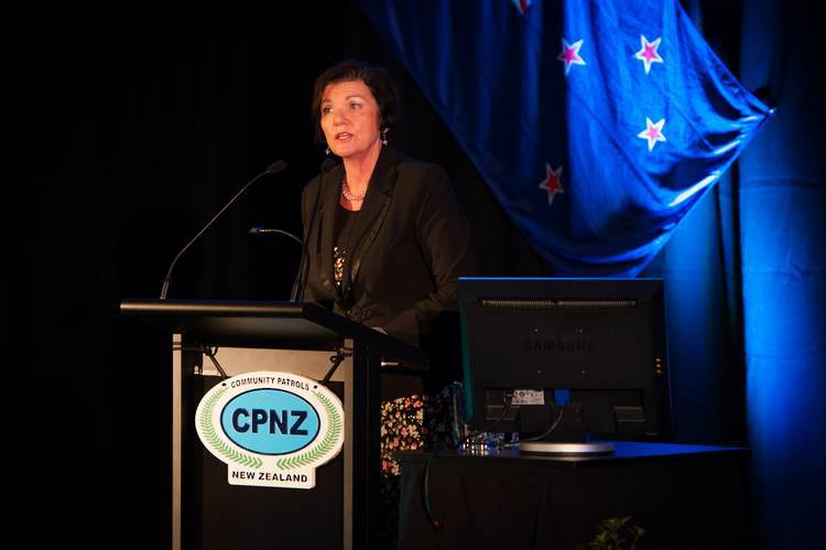 Minister of Police, Anne Tolley